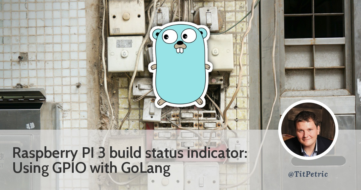 Building your own build status indicator with GoLang and